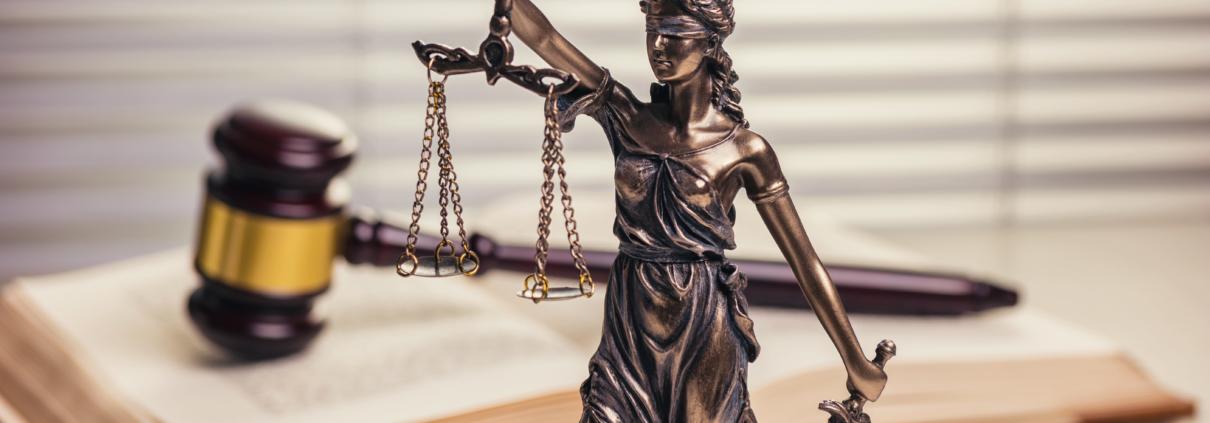 Symbolbild Justitia