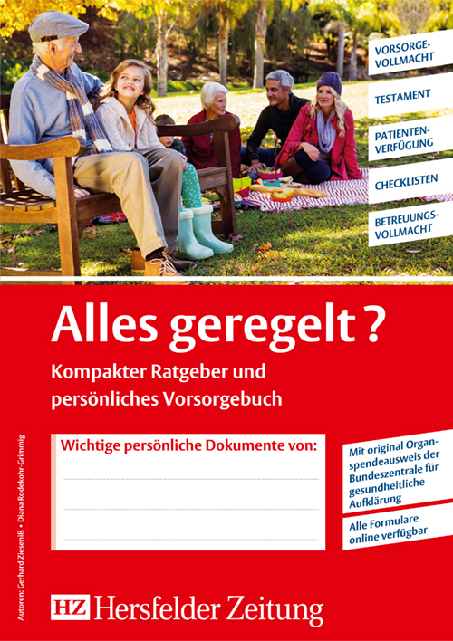 Individuelle Titelseite Hersfelder Zeitung